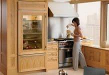 lodówka do zabudowy w kuchni