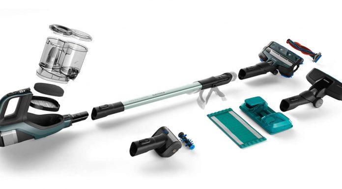 Odkurzacz pionowy Philips PowerPro Aqua