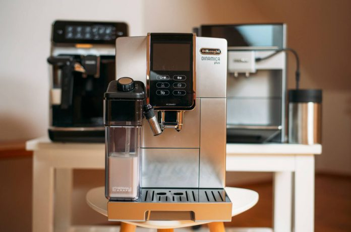 ranking ekspresów do kawy latte DeLonghi Philips Siemens